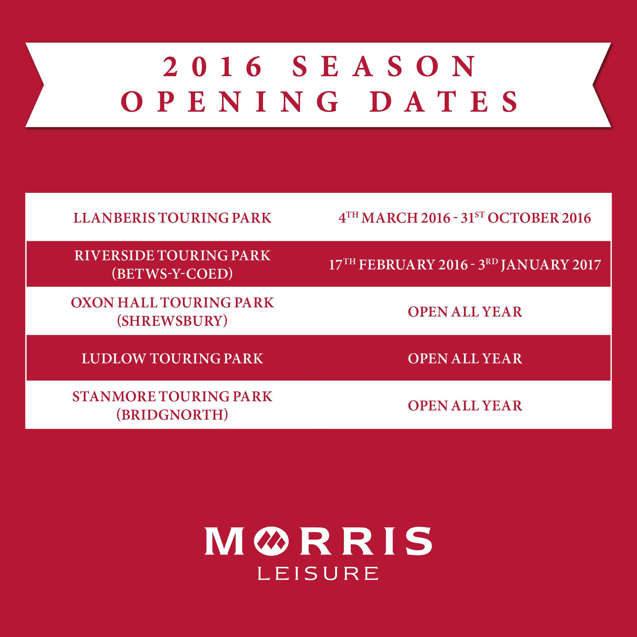 Season Dates and Bag Limits