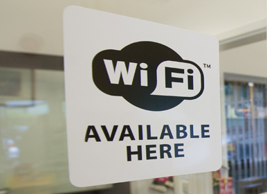 Wi-Fi available (for an extra charge)