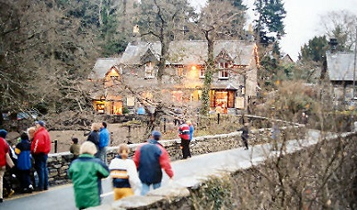 Betws-Y-Coed at Christmas