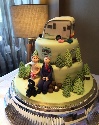 Wedding Cake Caravan Betws Y Coed North Wales