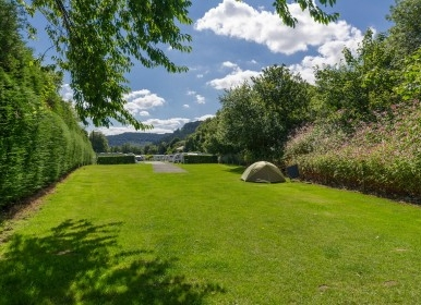 Camping Area, Riverside Touring Park, Betws-Y-Coed