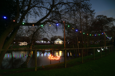 Christmas Lights at Oxon