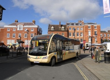 Ludlow Touring Park Bus