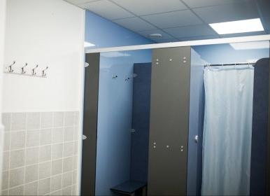 Oxon Hall shower block