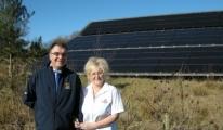 Ludlow Touring Park Solar Panels